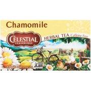 (6 Boxes) Celestial Seasonings Herbal Tea, Chamomile, 20 Count