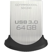 SanDisk Ultra Fit 64GB USB 3.0 Flash Drive (SDCZ43-064G-A46)