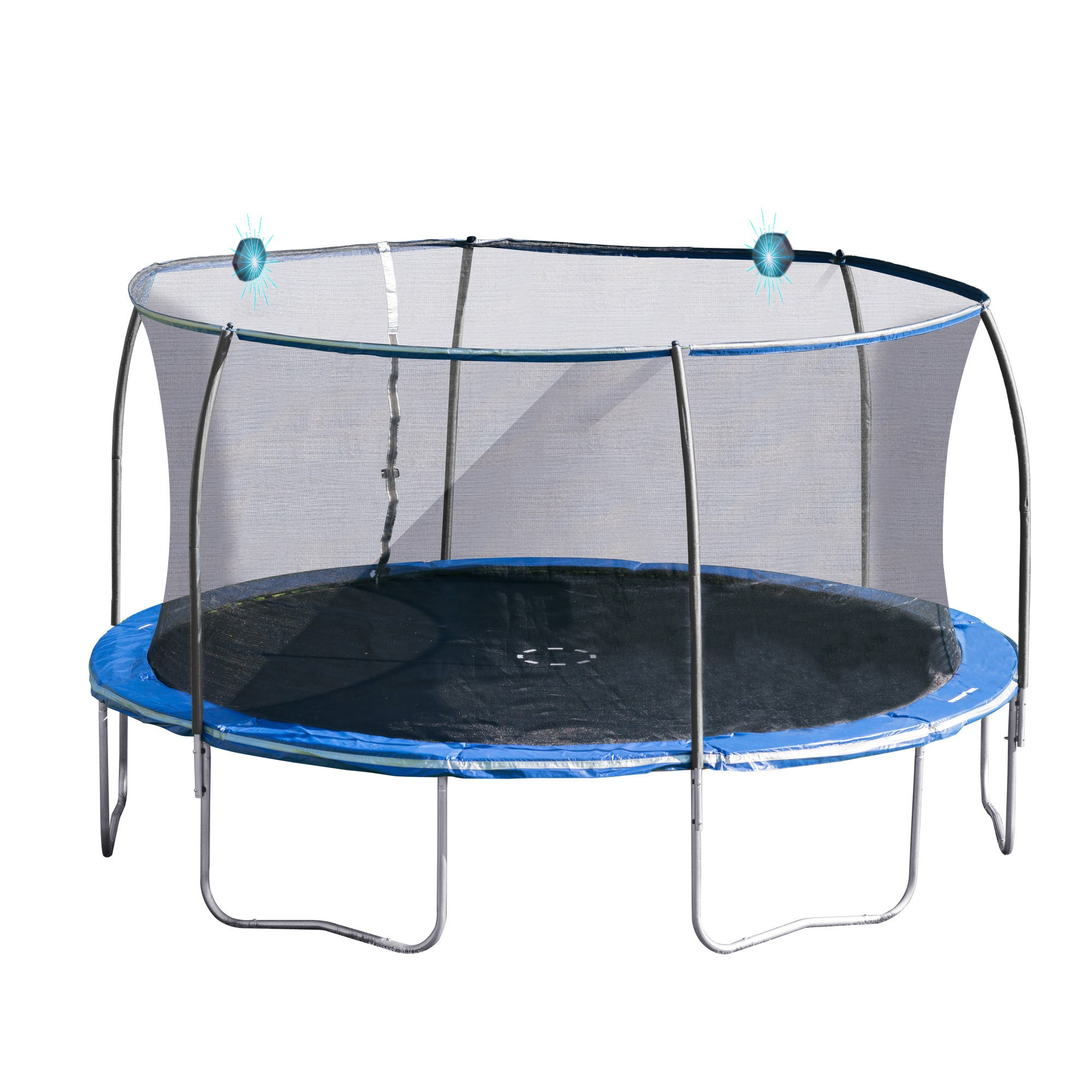 Bounce Pro 14-Foot Trampoline, with Electronic Shooter ...