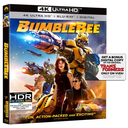 Bumblebee (4K Ultra HD + - Halloween 2 Remake Blu Ray