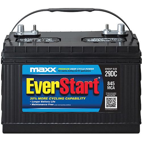 EverStart Maxx Marine Battery, Group Size 29DC