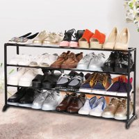 Unbranded Shoe Tower Rack Floor Stand Shoes Shelf Storage Organizer 4/7/10 Tier WSY