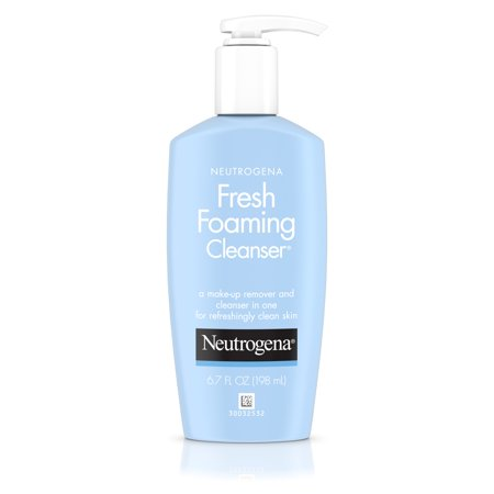 Neutrogena Fresh Foaming Facial Cleanser & Makeup Remover, 6.7 fl. (White Facial Foam)