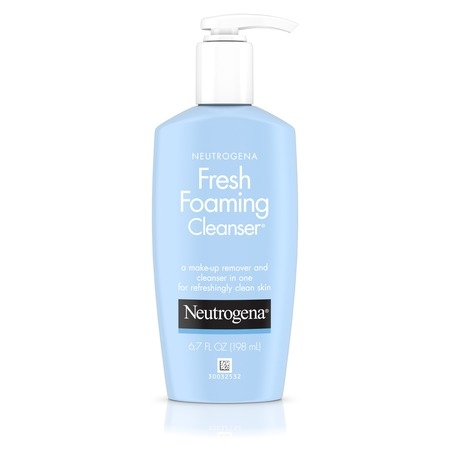 - Neutrogena Fresh Foaming Facial Cleanser & Makeup Remover, 6.7 fl. oz
