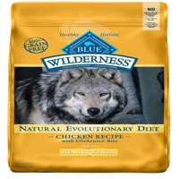Blue Buffalo Wilderness High Protein Grain Free, Natural Adult Healthy Weight Dry Dog Food, Chicken