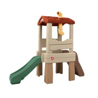 Step2 Lookout Treehouse Kids Outdoor Playset Climber with Slide