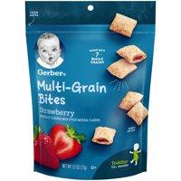 Gerber Bitty Bites Multigrain Snack, Strawberry, 2.5 oz.
