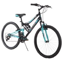 "Huffy 26"" Trail Runner Womens Mountain Bike, Black"