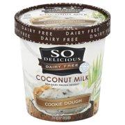 So Delicious Dairy Free Coconut Milk Gluten Free Cookie Dough Non-Dairy Frozen Dessert, 1 pt