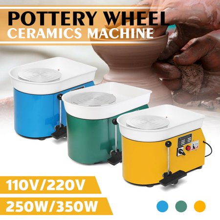 Pottery Forming Machine 250W Electric Pottery Wheel DIY Clay Tool With Tray For Ceramic Work Ceramics - Pottery For Beginners