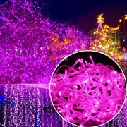 100 Led Rgb Multi Color Fairy String Lights Lamp For Xmas Tree Holiday Wedding Party