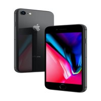 Straight Talk Apple iPhone 8 w/64GB Prepaid Phone, Space Gray