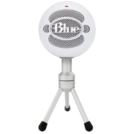Blue Snowball iCE Condenser Microphone, Cardioid - White - (Best Toy Microphone Reviews)