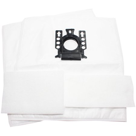 2 Replacement Miele S2181 Titan Vacuum Bags with 2 Micro Filters - Compatible Miele Type GN Vacuum Bags - image 3 de 4