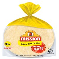 Mission Yellow Corn Tortillas, 30 Count