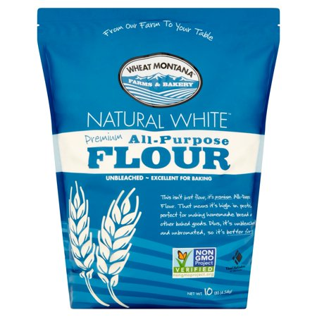 - (2 Pack) Wheat Montana Premium All-Purpose Flour, 10 lb