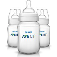 Philips Avent Anti-Colic BPA-Free Baby Bottles - 9oz, Clear, 3 ct