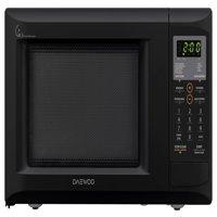 Daewoo KOR-9GDEB Countertop Microwave Oven 0.9 Cu. Ft., 900W | Black