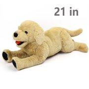 829ed4f27cf4 21 in Large Dog Stuffed Animals Plush, Soft Cuddly Golden Retriever Plush  Toys, Stuffed