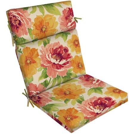 Mainstays Outdoor Patio Chair Cushion Walmart Com
