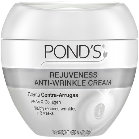 Anti Aging Wrinkle Cream (Pond's Rejuveness Anti Aging Face Cream for Fine Lines and Wrinkles, with Alpha Hydroxy Acid and Collagen, 14.1 oz )