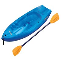 Sun Dolphin Reef 6.6 Sit-On Youth Kayak, Paddle Included