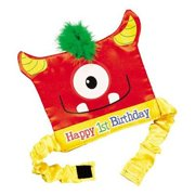 IN 13617395 1st Birthday Mini Monster Party Hat 1 Pieces 2PK