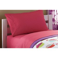 Mainstays Kids Coordinating Printed Sheet Set