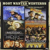 The 6-Movie Most Wanted Westerns Collection: Geronimo / Major Dundee / The Missing / The Professionals / The Quick And The Dead / Silverado (DVD)