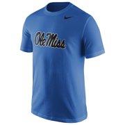 66b43e49 Ole Miss Rebels Nike Logo T-Shirt - Blue