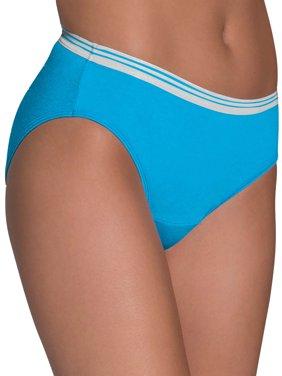 Women's Heather Bikini Panties, 6 Pack