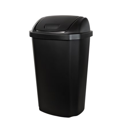 Hefty Swing-Lid 13.5 Gal Trash Can,
