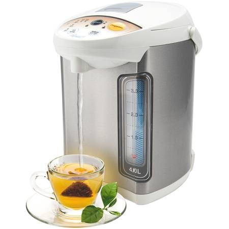 Rosewill Electric Hot Water Boiler and Warmer, Hot Water Dispenser with Night light, Dual Dispense Speed, Stainless Steel, 4.0 Liter (1 Gallon), RHAP-16001 ()