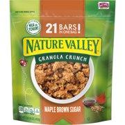 (2 Pack) Nature Valley Maple Brown Sugar Granola Crunch, 16 oz