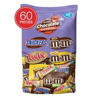 Mars Fun Size Chocolate Candy Variety Mix, 33.9 Oz, 60 CT
