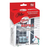 Full Crystal Refill Packets, Window and Outdoor Surface Cleaner by Fuller Brush, As Seen on TV