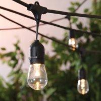 Better Homes & Gardens Outdoor LED Cafe String Lights