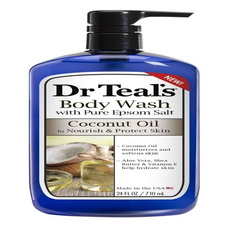Bath Oil Beads (Dr Teal's Coconut Oil Body Wash, 24 fl oz)