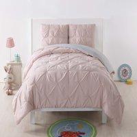 My World Pleated Blush Twin XL Comforter Set