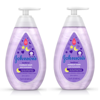Johnson's Bedtime Baby Moisture Wash with Soothing Aromas, 13.6 fl. oz