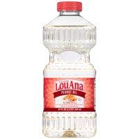 (2 Pack) LouAna 100% Pure Peanut Oil, 24 Oz