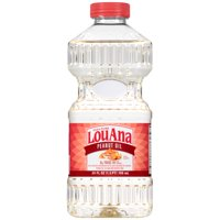 (2 Pack) LouAna 100% Pure Peanut Oil, 24 Oz