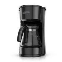 Black & Decker 5 Cup 4-in-1 Black Coffee Maker, 1 Each