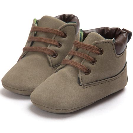 Baby Toddler Soft Sole Leather Shoes Infant Boy Girl Toddler Shoes ()