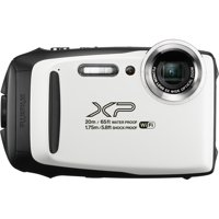 Fujifilm FinePix XP130 Waterproof Action Camera, White