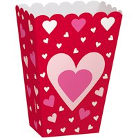Hearts Valentine Treat Boxes, 6-Count