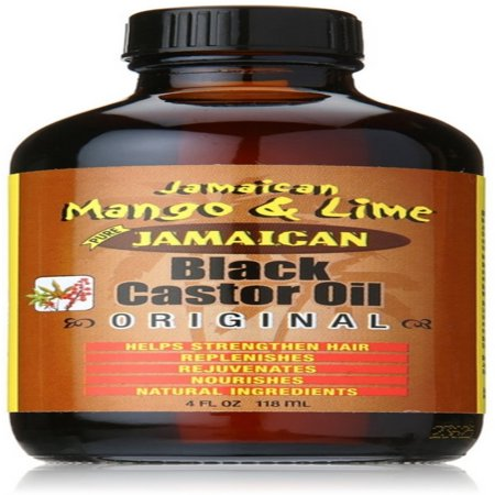 Jamaican Mango & Lime Black Castor Oil Original, 4 fl (Best Castor Oil Brand For Skin)