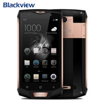 "Blackview BV8000 Pro 5"" Android 7.0 Straight Talk Smartphone 4G LTE Dual Sim 6G RAM+ 64G ROM IP68 Waterproof Mobile Phone,Rose Gold"