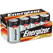 Energizer MAX Alkaline, C Batteries, 8 Pack