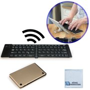 0b27dce6ada Foldable Bluetooth Keyboard for Computers, Laptops, Tablets, Smartphones,  iPhones, Samsung,